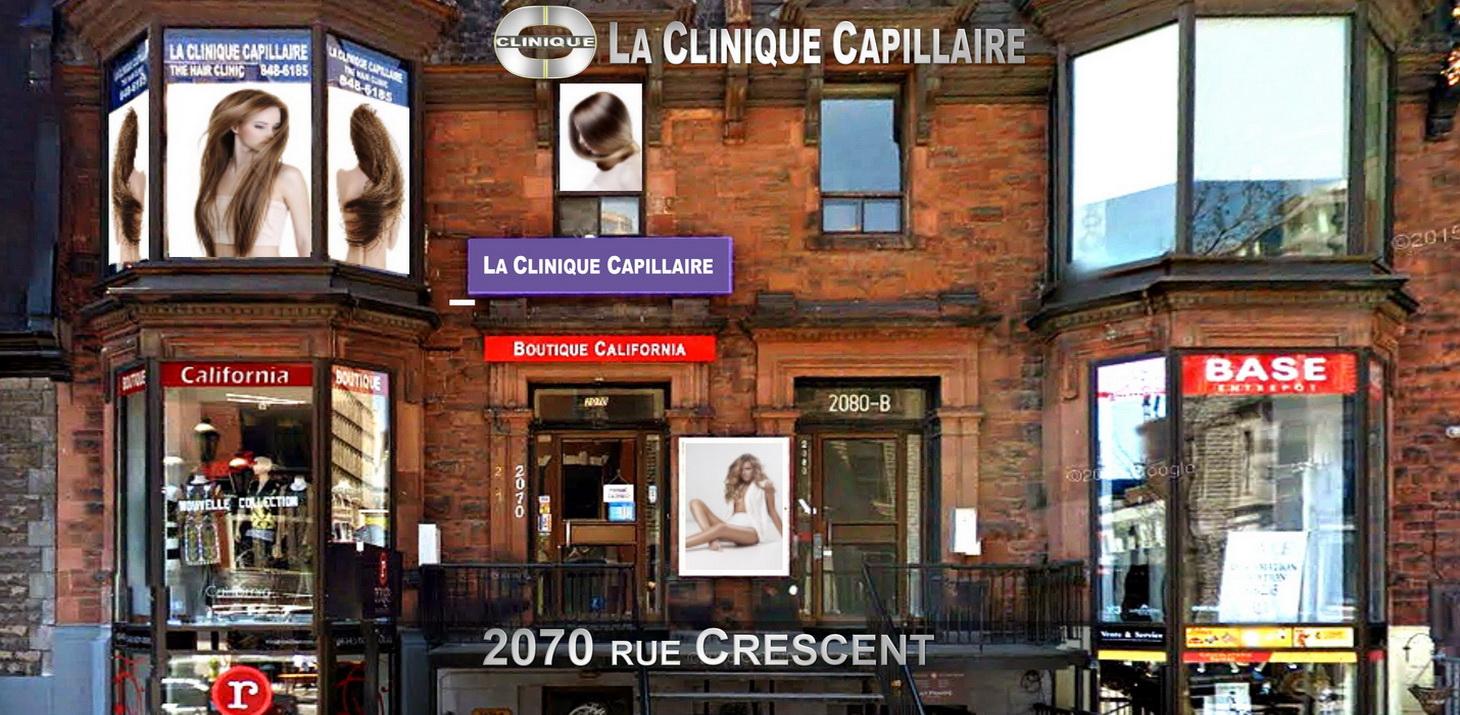 Contactez La Clinique Capillaire Montréal 2070 Crescent at 514-848-6185